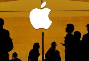 Loja da Apple na Grand Central Station, em Nova York Foto: Lucas Jackson / REUTERS