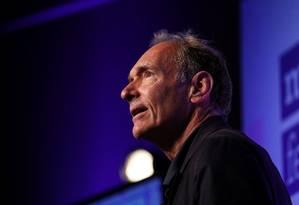O inventor da World Wide Web, Tim Berners-Lee, se diz desapontado com o estado atual da rede Foto: SIMON DAWSON / REUTERS