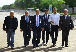 Equipe de transição do governo Jair Bolsonaro no CCBB Foto: Jorge William / Agência O Globo