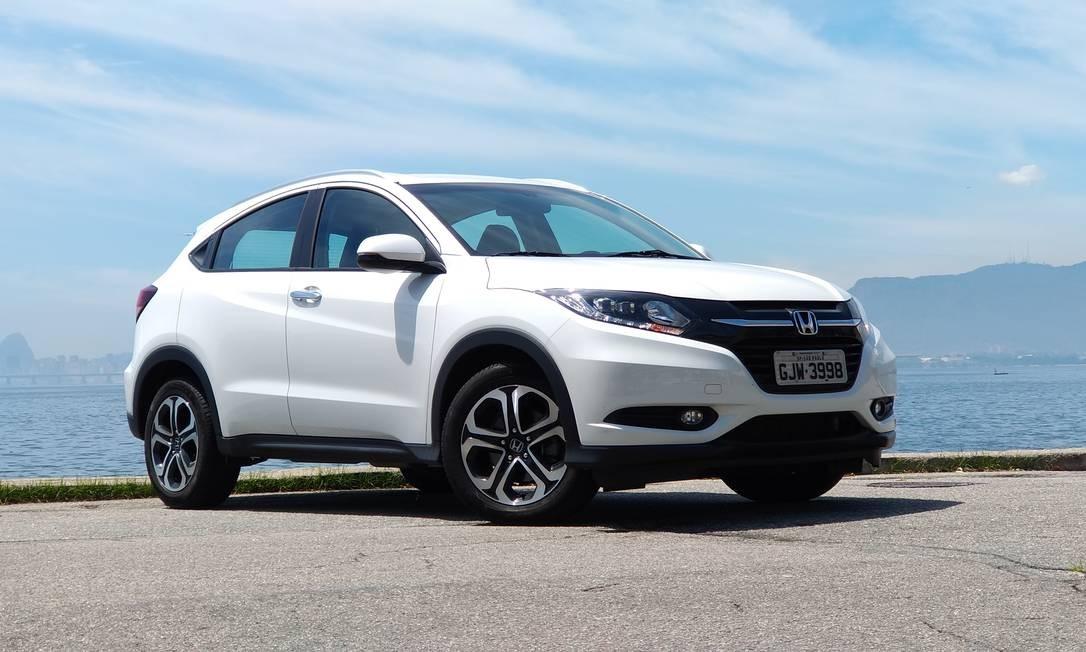 Honda HR-V: cerca de 20 mil unidades de modelos fabricados entre 2016 e 2018 apresentam problema nos freios Foto: Reprodução