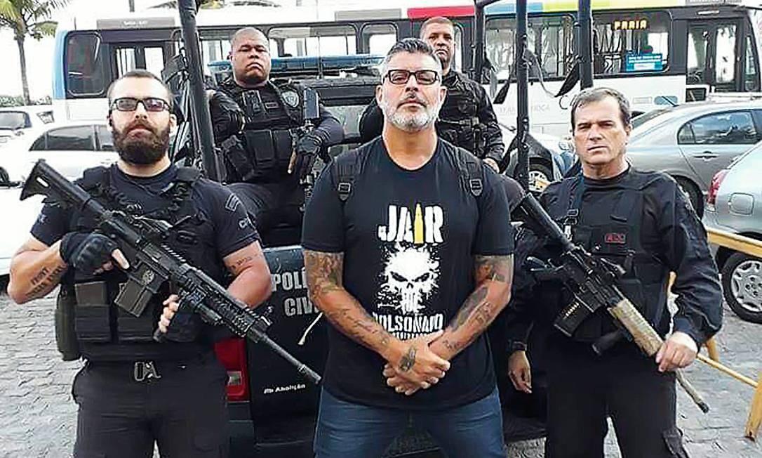Alexandre Frota, apoiador de primeira hora de Bolsonaro e deputado federal eleito com 155 mil votos Foto: Reprodução