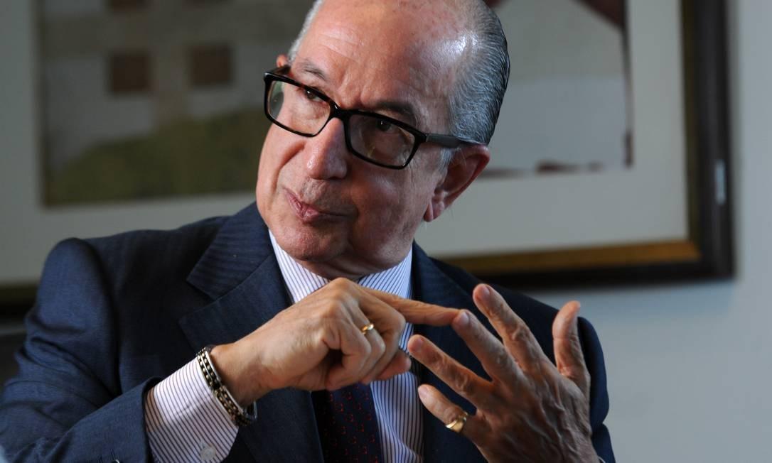 O secretário especial da Receita Federal, Marcos Cintra Foto: Leo Pinheiro / Agência O Globo