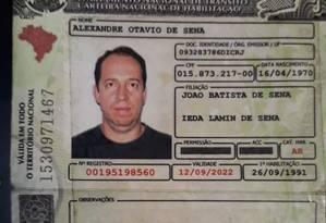 Alexandre Otavio de Sena, de 48 anos, morreu após a moto que dirigia colidir com um veículo de passeio Foto: Redes Sociais