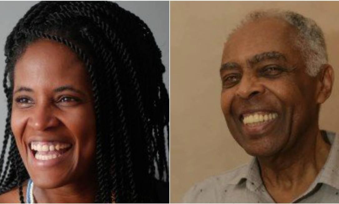 Djamila Ribeiro e Gilberto Gil vão participar da Flup 2018 Foto: Infoglobo