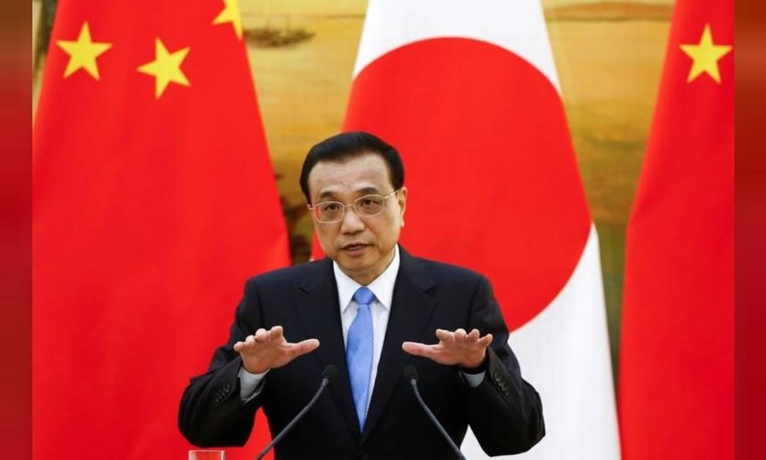 O primeiro-ministro da China, Li Keqiang Foto: / Reuters