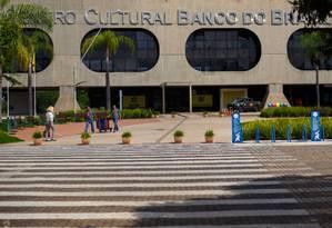 Fachada do CCBB, local disponibilizado para os gabinetes de transição, em Brasília Foto: Daniel Marenco/Agência O Globo/30-10-2018