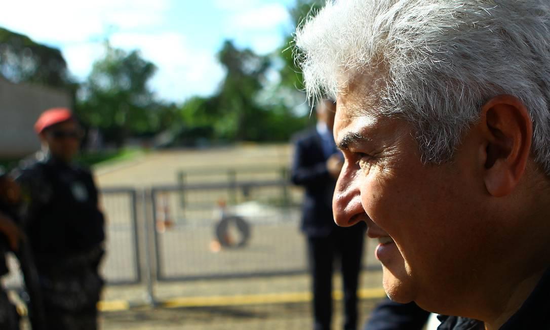 O coronel Marcos Pontes, indicado como ministro da Ciência de Tecnologia Foto: Jorge William/Agência O Globo/05-11-2018