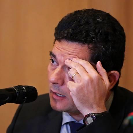 O juiz Sergio Moro disse que não aceitou ser ministro da Justiça como parte de um