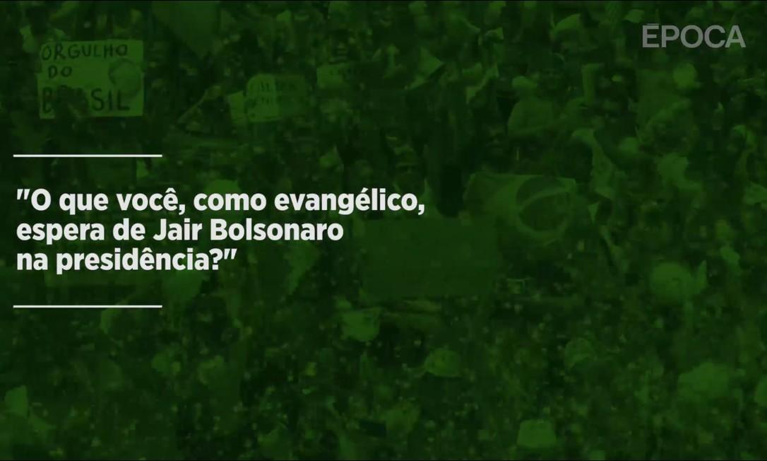 Vídeo encomendado por ÉPOCA Foto: Agência O GLOBO