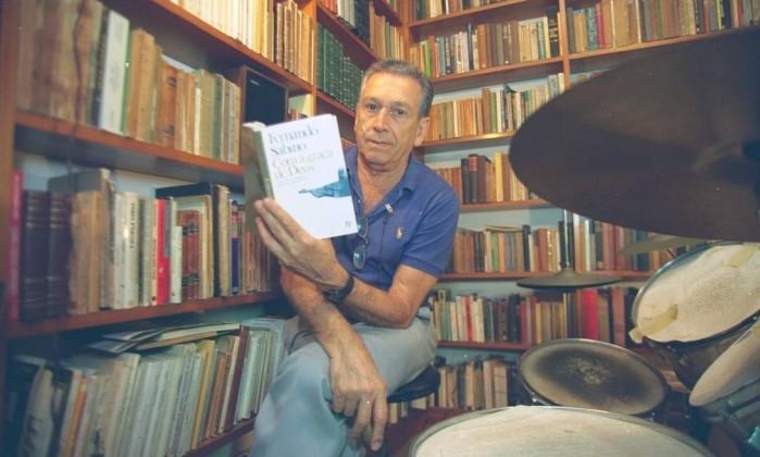 Fernando Sabino, em foto de novembro de 1994 Foto: Marco Antônio Teixeira / Agência O Globo