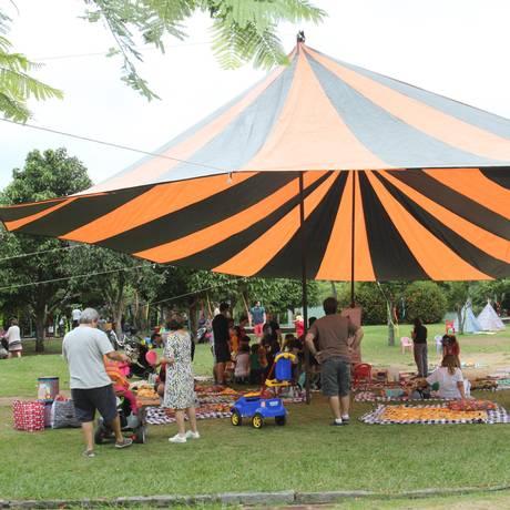 As atividades do projeto vão ocupar a Praça do Pomar, na Barra, pela manhã: o primeiro evento será sábado Foto: Divulgação / Divulgação