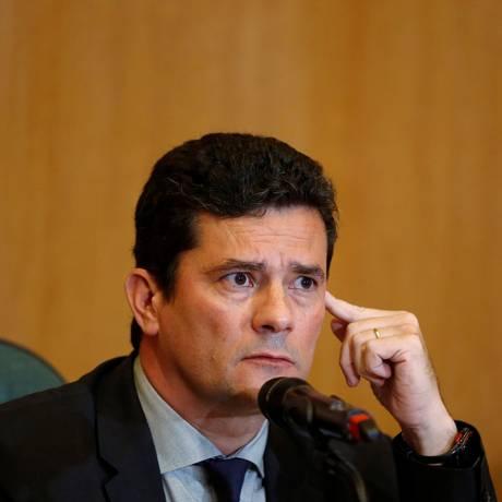 O futuro ministro da Justiça, Sérgio Moro Foto: Daniel Derevecki / REUTERS