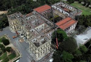 Mau tempo da primavera carioca preocupa equipe de resgate Foto: Custódio Coimbra / Agência O Globo