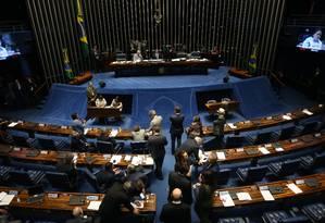 Senado pode votar nesta terça-feira aumento no contracheque de ministros do STF Foto: Ailton de Freitas / Agência O Globo