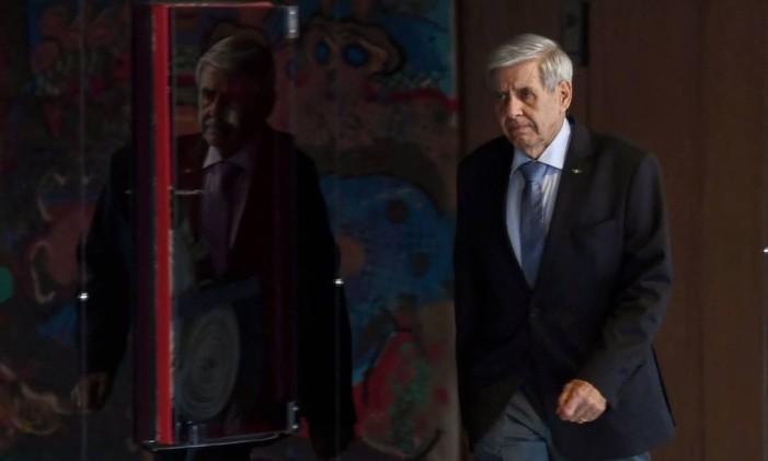 Ministro Augusto Heleno Foto: EVARISTO SA / AFP
