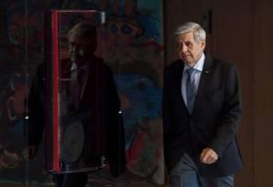O general Augusto Heleno Pereira, que estava indicado para o ministério da Defesa de Bolsonaro, ficará com o Gabinete de Segurança Institucional Foto: EVARISTO SA / AFP