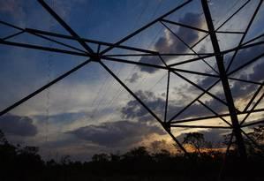 Torres de transmissão de energia em Brasília Foto: Daniel Marenco/Agência O Globo/03-09-2018