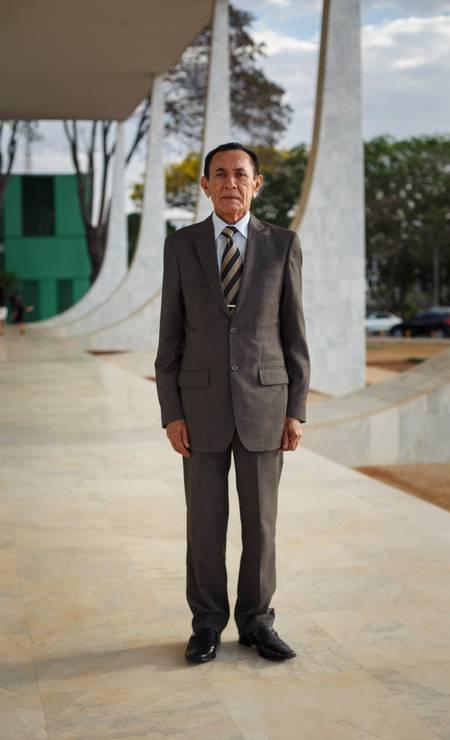 O advogado Jose Dionizio de Oliveira também segue a linha tradicional Foto: Daniel Marenco / Agência O Globo