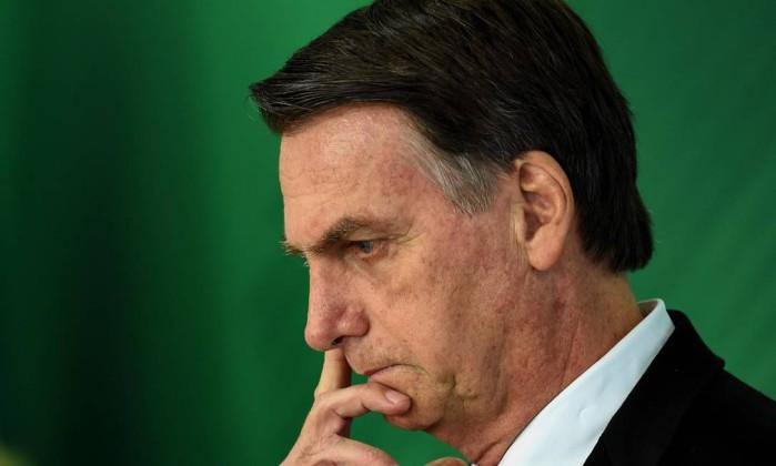 O presidente-eleito Jair Bolsonaro Foto: Evaristo Sá / AFP
