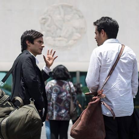 No filme, dois amigos sem perspectivas assaltam museu Foto: Divulgação / Divulgação