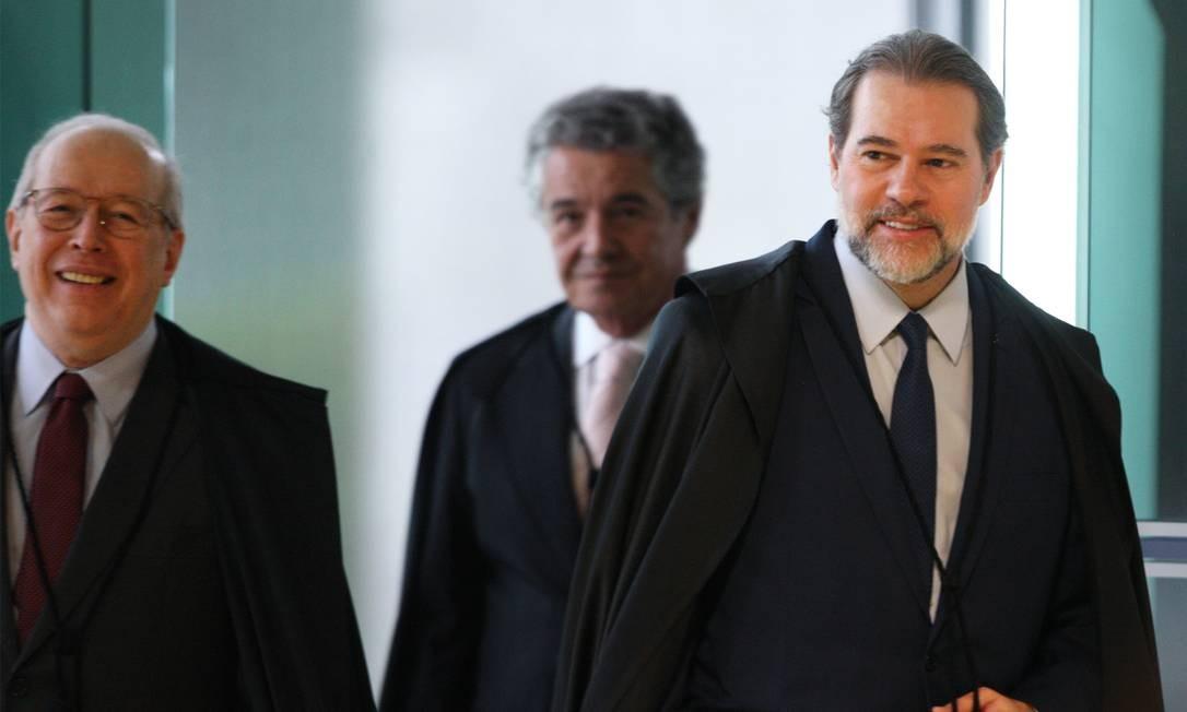 O presidente do STF, ministro Dias Toffoli Foto: Nelson Jr./STF