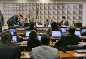 Comissão Mista da medida provisória que destina recursos das loterias para segurança pública Foto: Roque de Sá/Agência Senado