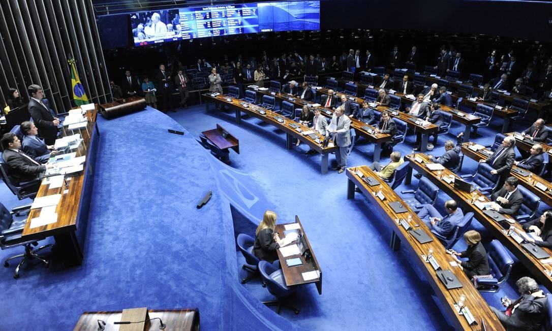 Plenário do Senado Federal durante sessão deliberativa Foto: Jonas Pereira/Agência Senado