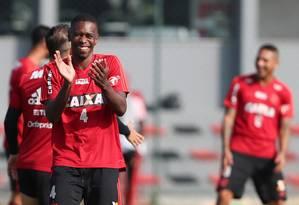 Juan está perto da aposentadoria Foto: Gilvan de Souza/Flamengo / Agência O Globo
