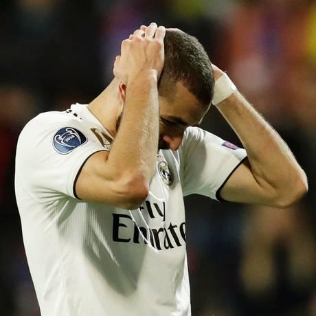 Benzema seguirá batalha nos tribunais Foto: DAVID W CERNY / REUTERS