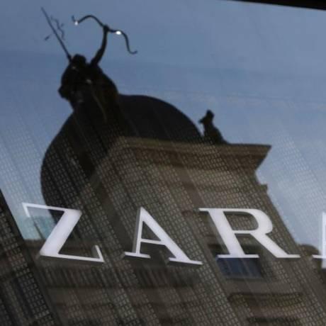 Logo da Zara, principal marca da Inditex, em Madri, Espanha Foto: Reuters