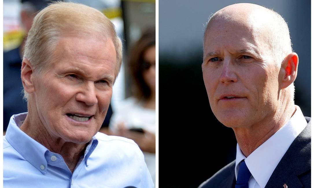 No condado de Monroe, na Flórida, Scott venceu por um voto de diferença Foto: Kevin Kolczynski / REUTERS