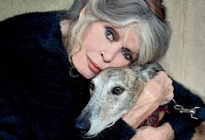 Brigitte Bardot foi entrevista por Rita Lee Foto: Arquivo Pessoal