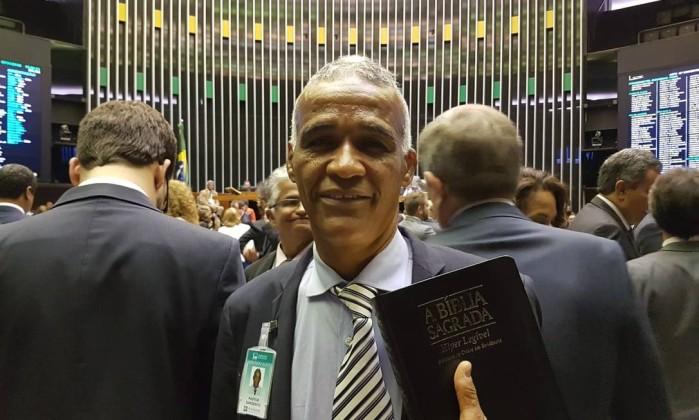 Pastor Sargento Isidório, deputado federal mais votado na Bahia Foto: Gabriel Hirabahasi / Época