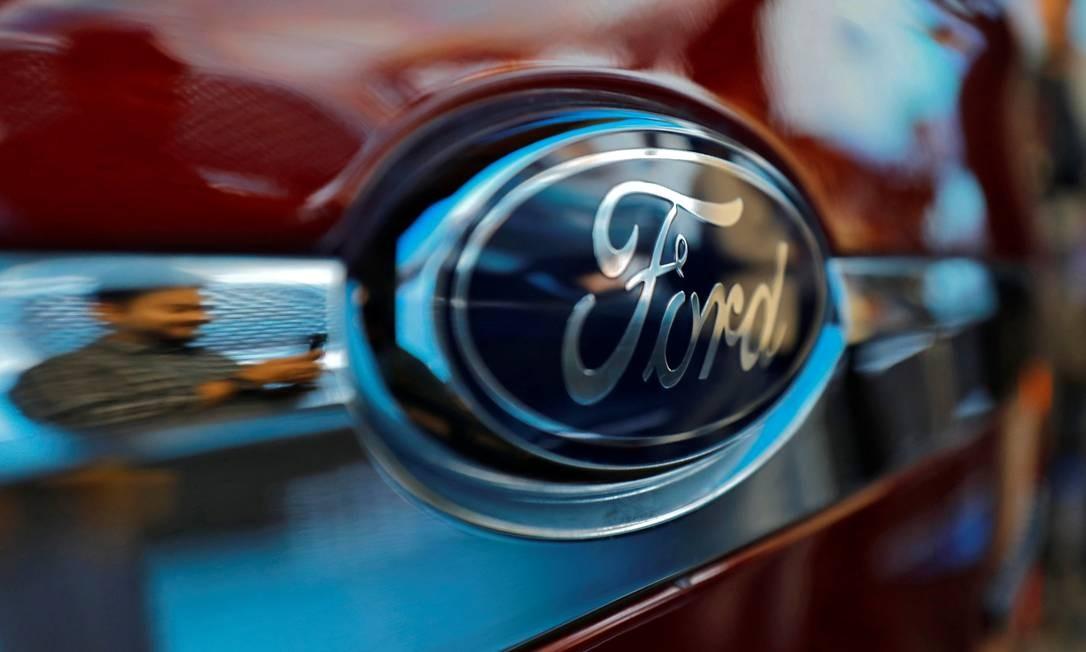 Logotipo da Ford Foto: ANUSHREE FADNAVIS / REUTERS