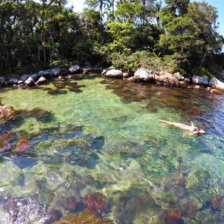 Ilha secreta Foto: Angra Convention & Visitor Bureau/Divulgação