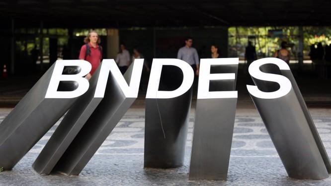 Sede do BNDES, no Centro do Rio. Foto: Lucas Tavares / Lucas Tavares/28-9-2017