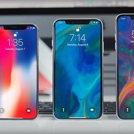 Novos modelos do iPhone começam a ser vendidos no Brasil Foto: Reprodução