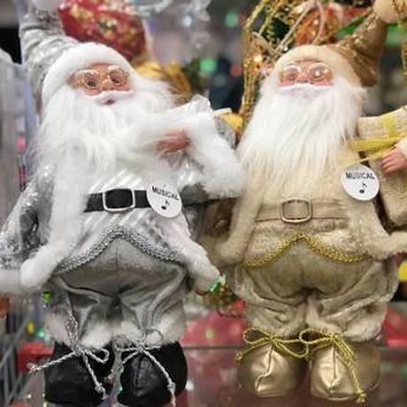 Papai Noel chega em 2018 com novas cores no uniforme Foto: Letycia Cardoso