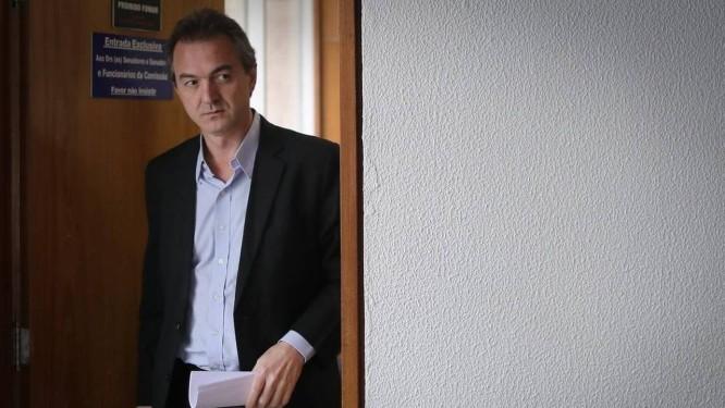Joesley Batista foi preso pela PF nesta sexta-feira Foto: Bloomberg / Agência O Globo