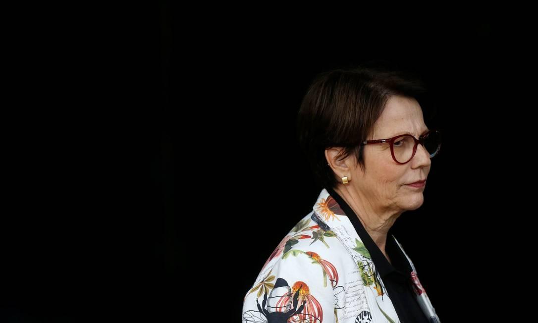 A futura ministra da Agricultura, Tereza Cristina (DEM-MS) Foto: Adriano Machado / Reuters