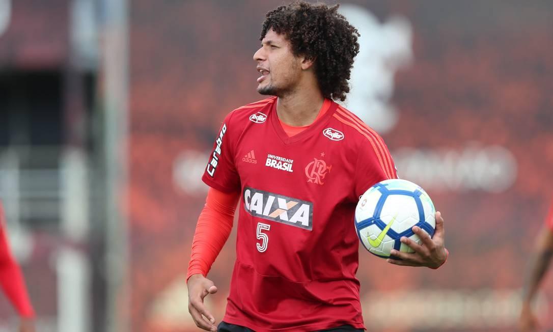 Willian Arão não sabe se fica no Flamengo em 2019 Foto: Gilvan de Souza/Flamengo