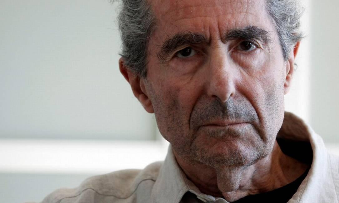 O escritor Philip Roth, falecido em 2018 Foto: ERIC THAYER / Agência O Globo