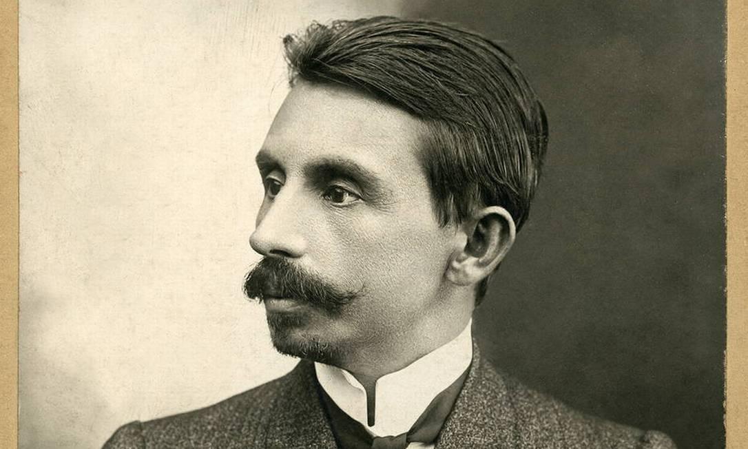 Retrato de Euclides da Cunha feita em 1906 Foto: Reprodução
