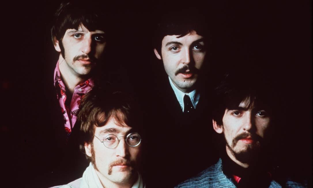 Os Beatles: Ringo, John, Paul e George em 1967 Foto: Arquivo