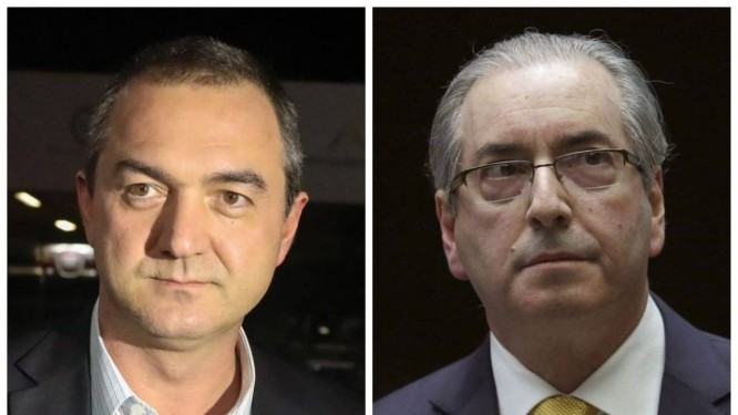 Joesley e Cunha tiveram discussão acalorada durante negociação de propina Foto: Sergio Lima/AFP e Aílton de Freitas/Agência Oglobo