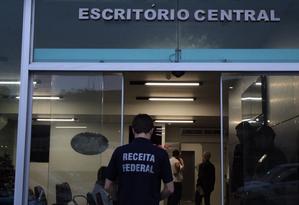 Operação Capitu combate esquema ilegal de financiamento de campanha e corrupção Foto: Divulgação/Receita Federal