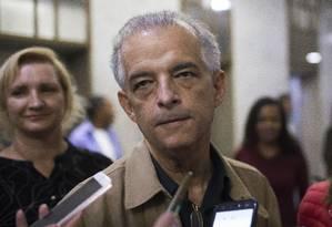 Marcio França (PSB), governador do estado de São Paulo Foto: Edilson Dantas / Agência O Globo (07/10/2018)