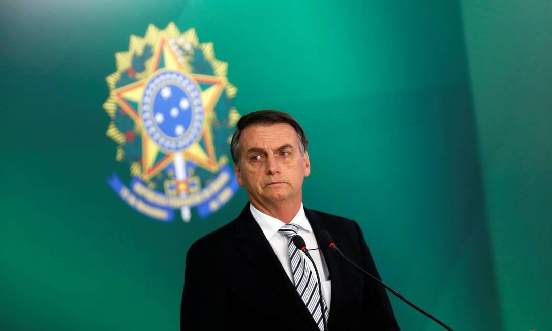 O presidente eleito Jair Bolsonaro anunciou seu interesse em mudar conteúdo do Enem Foto: ADRIANO MACHADO / REUTERS/7-11-2018