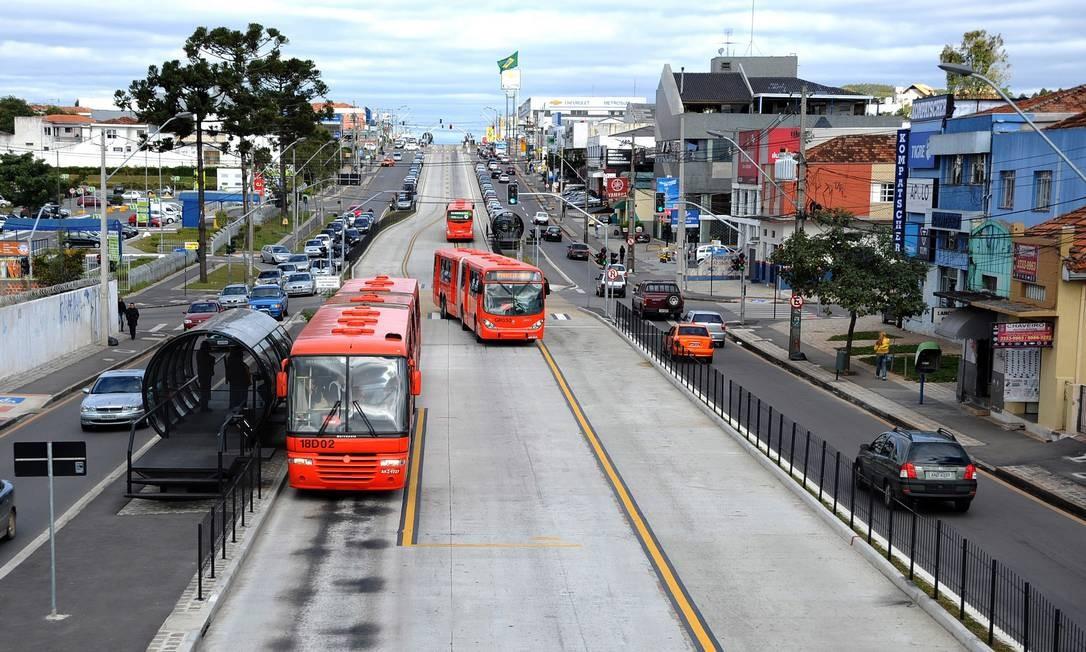 Alternativa. Cidades como Curitiba adotam a previdência complementar Foto: Joel Rocha / Arquivo