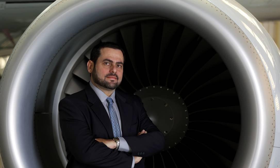 """Inovação no ar. André Stein, da Embraer X, trabalha numa espécie de carro voador: """"As coisas estão acontecendo mais rápido que a gente imaginava"""" Foto: Sergio Fujiki / Divulgação"""
